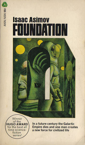 Book Cover Series S : Review of isaac asimov s quot foundation ideonexus