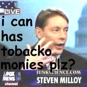 LOL Steve Milloy