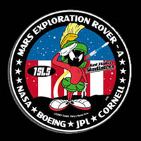Mars Rover Mission Patch