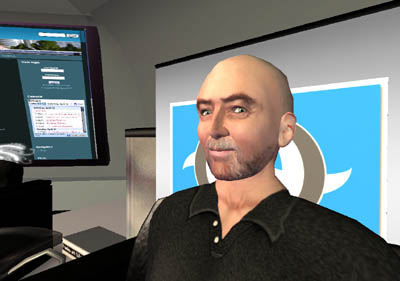 David Brin in SL