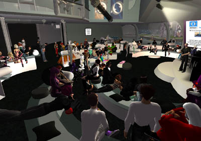David Brin Talks in SL