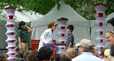 Vaudeville Science Performance by the Central Park Zoo
