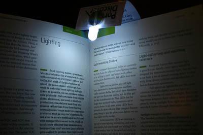 Led Bookmark Reading Lights Ideonexus Com
