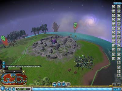 Spore's Civilization Stage