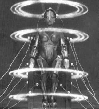 As far back as 1927 SF films like Metropolis were predicting robotics.
