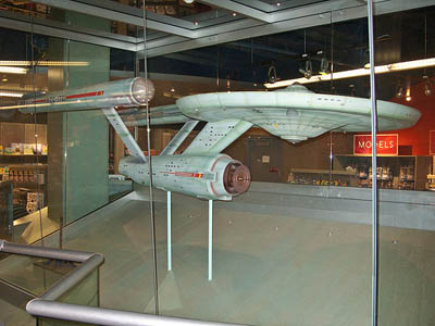 USS Enterprise model used in the original Star Trek series