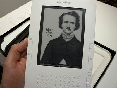 Edgar Allan Poe Kindle Screensaver