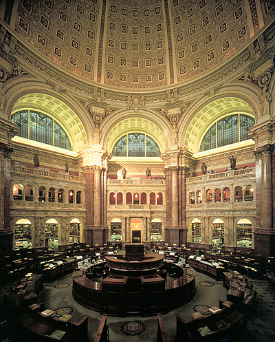 Library of Congress, Jefferson Reading Room