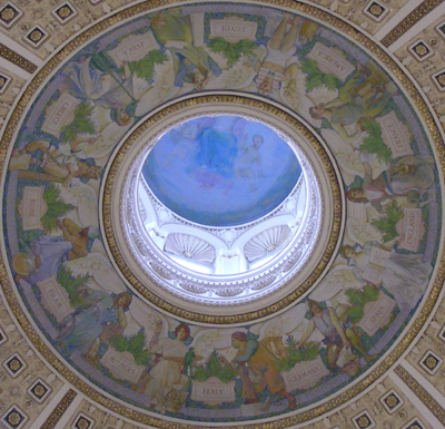 Dome of the Jefferson Reading Room