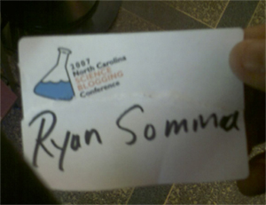 Ryan Somma's Official Nametag!