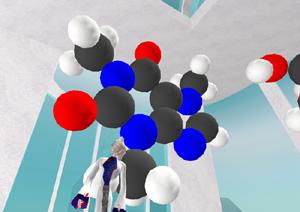 Mmmmm... Giant Caffeine Molecule