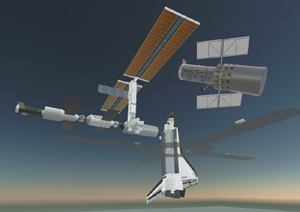 Shuttles and Space Stations and Hubble Oh My!