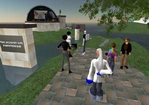 Second Life Planetarium