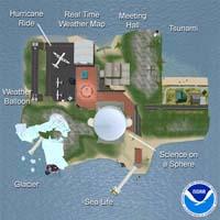 NOAA Island in Second Life
