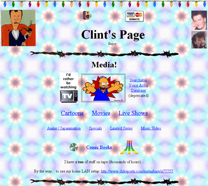 Clint's Homepage