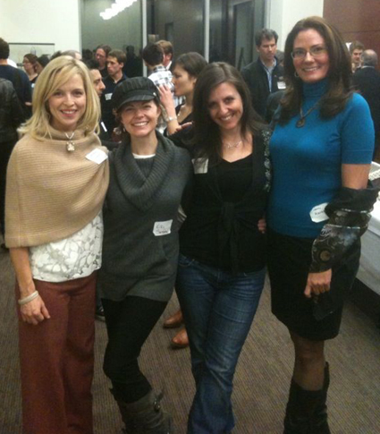Darlene Cavalier, Dr. Kiki Sandford, Rebecca Skloot, Joanne Manaster at Science Online 2010