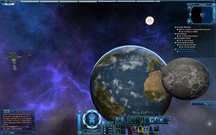 USS Waygate Cruizing the Sol System