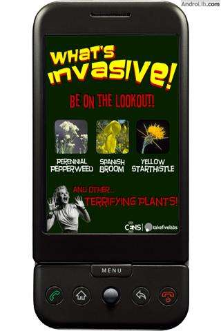 What's Invasive!
