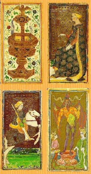 Visconti-Sforza tarot deck, 15th Century