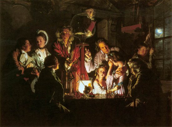 Joseph Wright's An Experiment on a Bird in the Air Pump