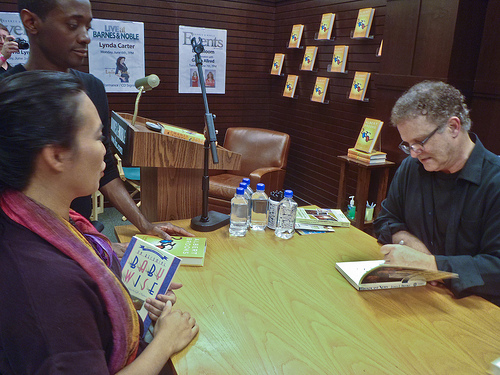 Albert Brooks at a Book Signing in LA