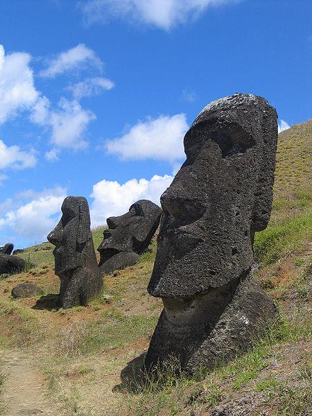 Easter Island, Moai Rano raraku