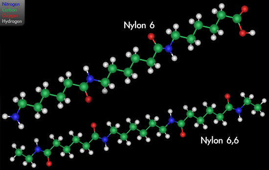 variants nylon 6 and nylon 6,6
