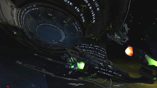 Vice Admirals Get Access to Borg Technologies to Trick Out their Ships