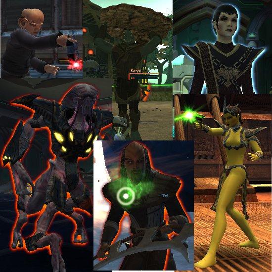 Ferengi, Gorn, Romulans, Undine, Klingons, and Orions, Oh My!