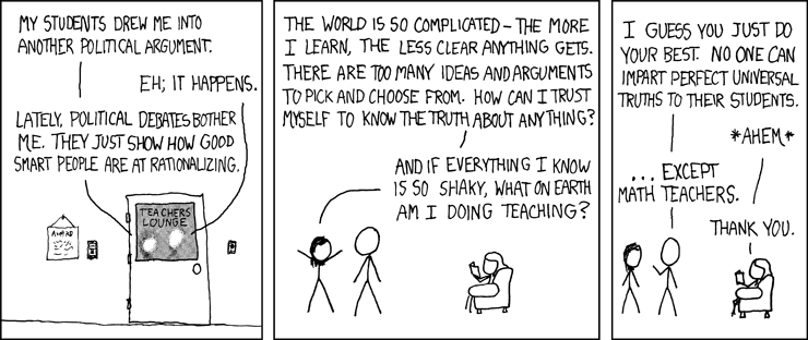 xkcd: Certainty