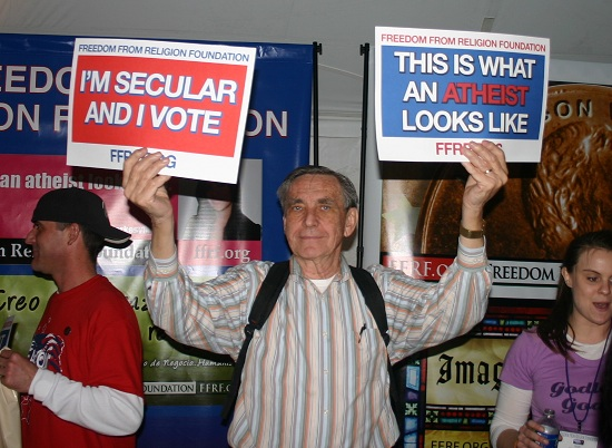 Secular/Atheist Protest Signs