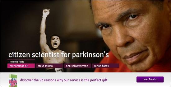 23andMe Parkinsons Disease Campaign