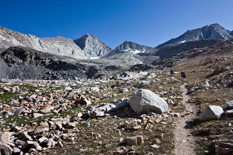 The Trail to Forester Pass