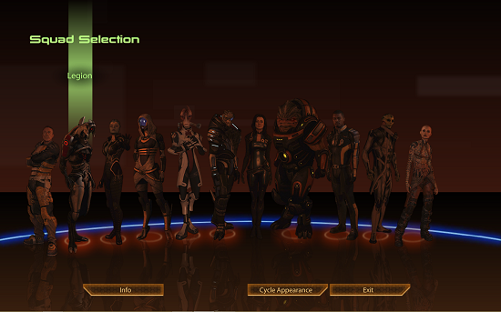 Squad Members
