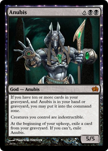 Anubus, Possible Theros Card