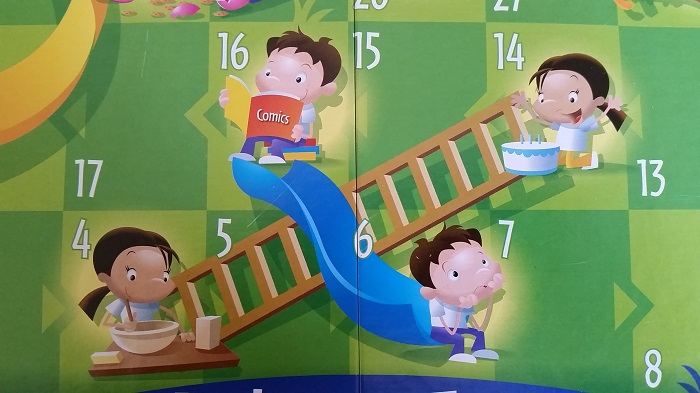 Chutes and Ladders Actions and Consequences